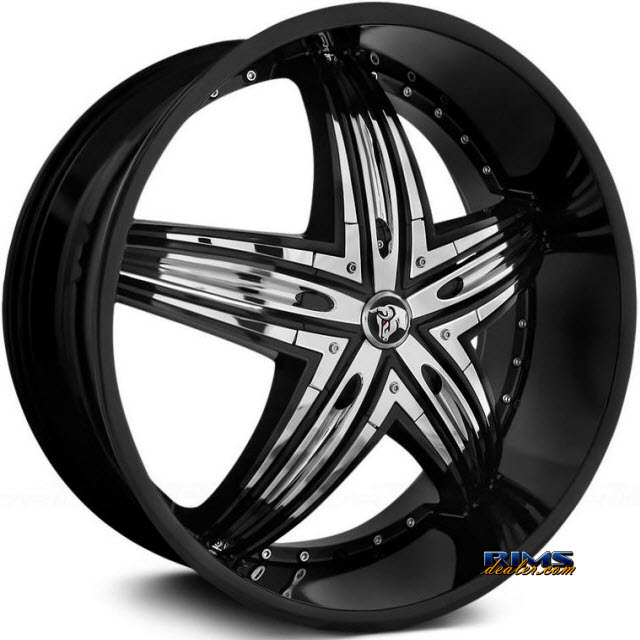 Pictures for Diablo Wheels RAGE Black Gloss