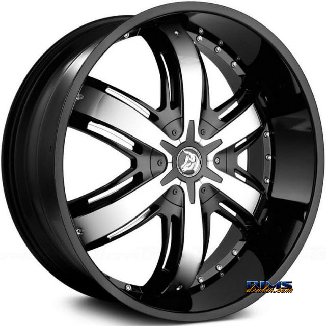 Pictures for Diablo Wheels RAZOR Black Gloss