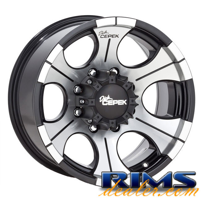 Pictures for Dick Cepek DC-2 (8-Lug) machined w/ black