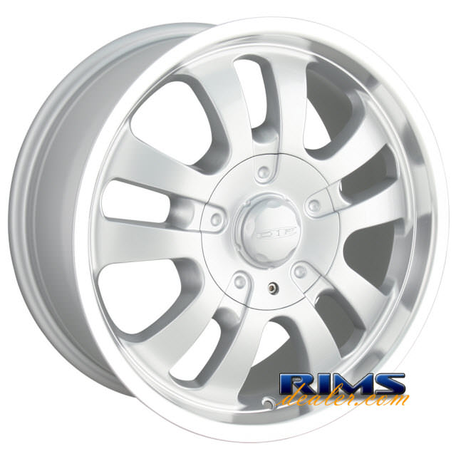 Pictures for Dip Rims D10 machined w/ silver