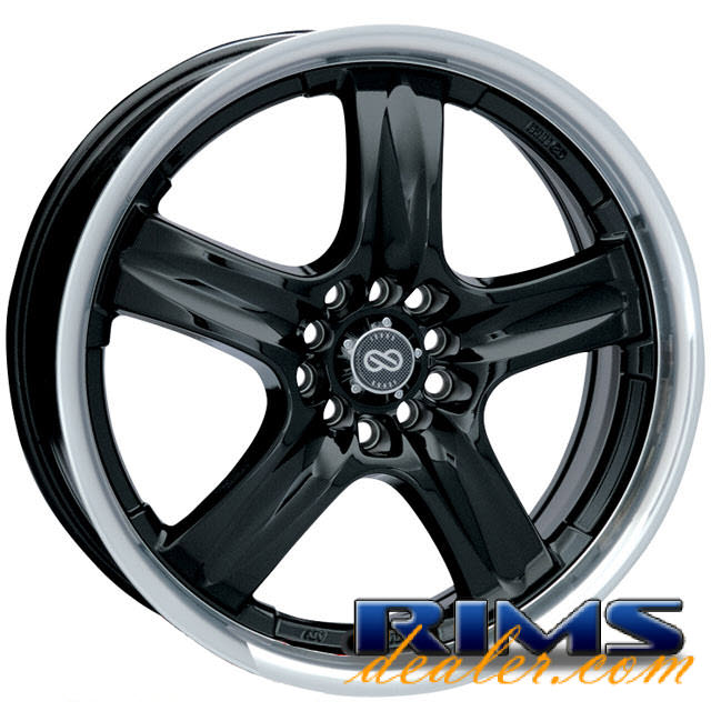 Pictures for ENKEI Em5 black gloss