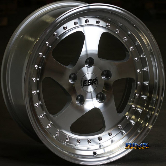 Pictures for ESR Wheels SR02 Machined Flat