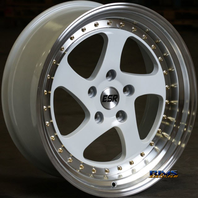 Pictures for ESR Wheels SR02 White Flat