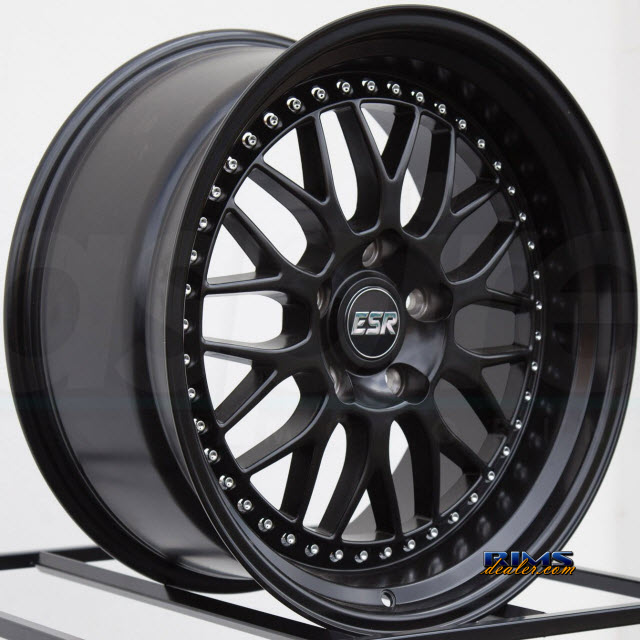 Esr Wheels Sr01 Rims Options View Esr Wheels Sr01 Black