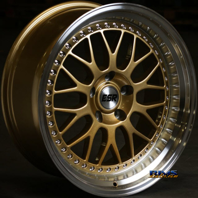 Pictures for ESR Wheels SR01 Gold Flat
