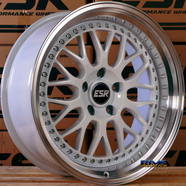 Pictures for ESR Wheels SR01 White Flat