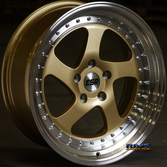 Pictures for ESR Wheels SR02 Gold Flat