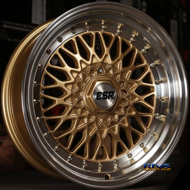 Pictures for ESR Wheels SR03 Gold Flat