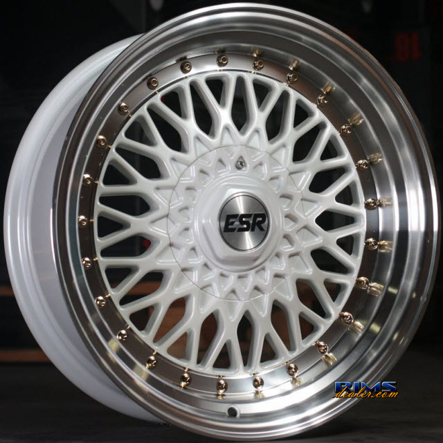 Pictures for ESR Wheels SR03 White Flat
