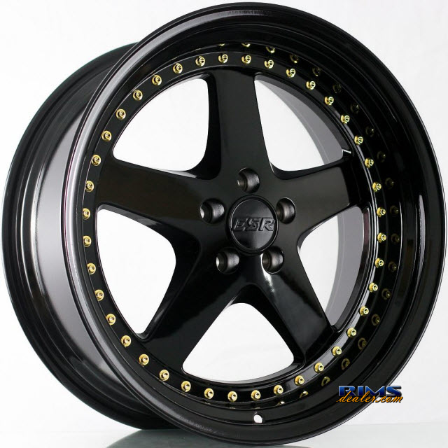 Pictures for ESR Wheels SR04 Black Gloss
