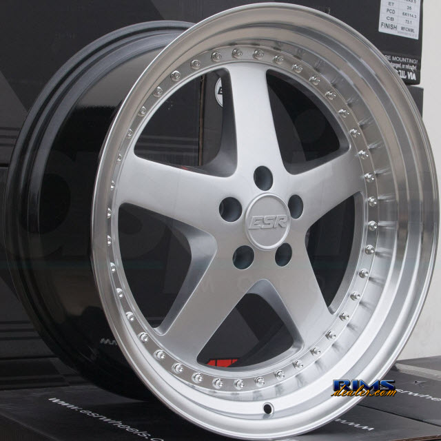 Pictures for ESR Wheels SR04 HYPERSILVER