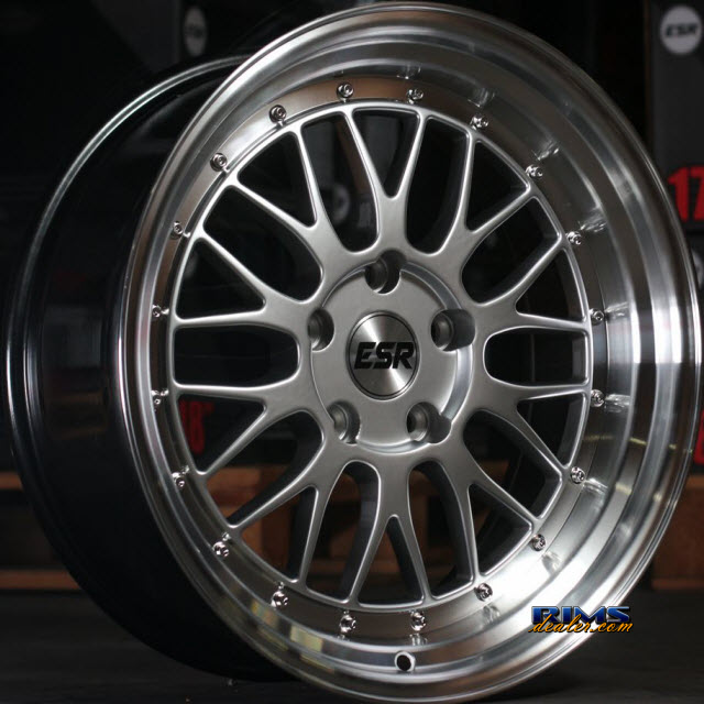 Pictures for ESR Wheels SR05 HYPERSILVER