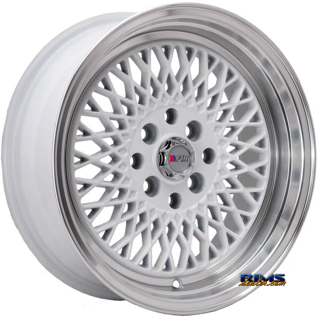 Pictures for F1R Wheels F01 Machined w/ White