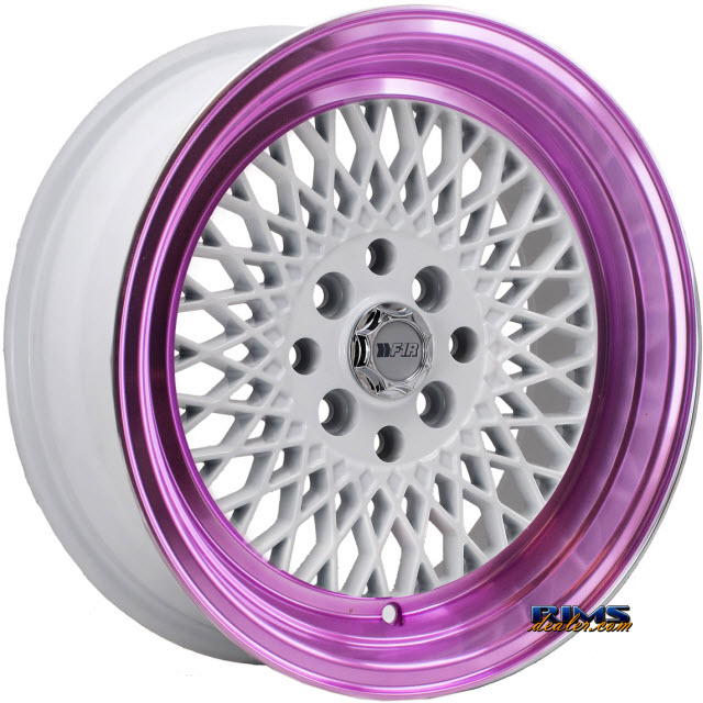 Pictures for F1R Wheels F01 White Flat
