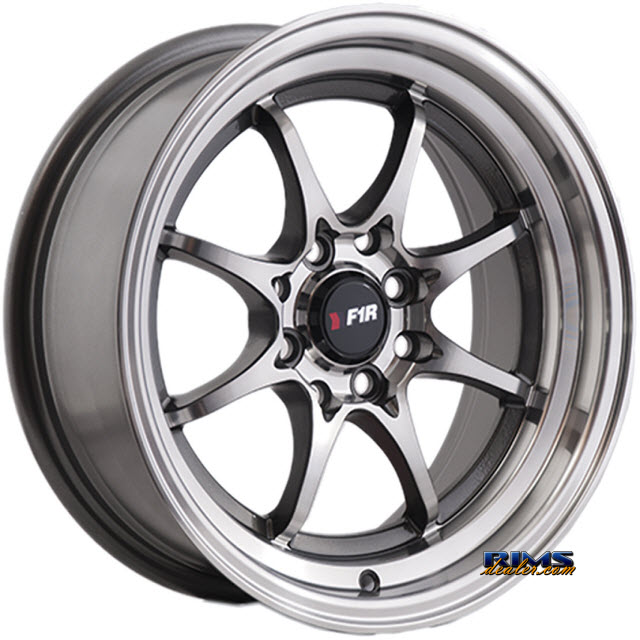 Pictures for F1R Wheels F03 Machined w/ Gunmetal
