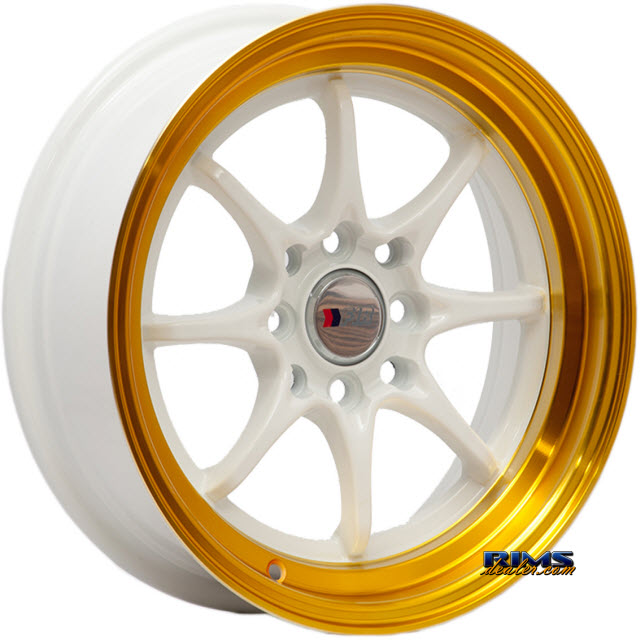 Pictures for F1R Wheels F03 White Flat