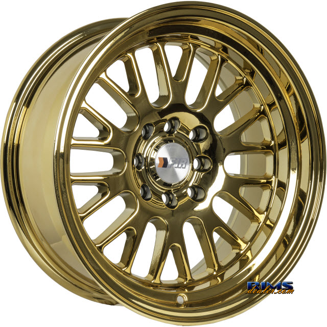 Pictures for F1R Wheels F04 - Chrome Gold Gold Flat