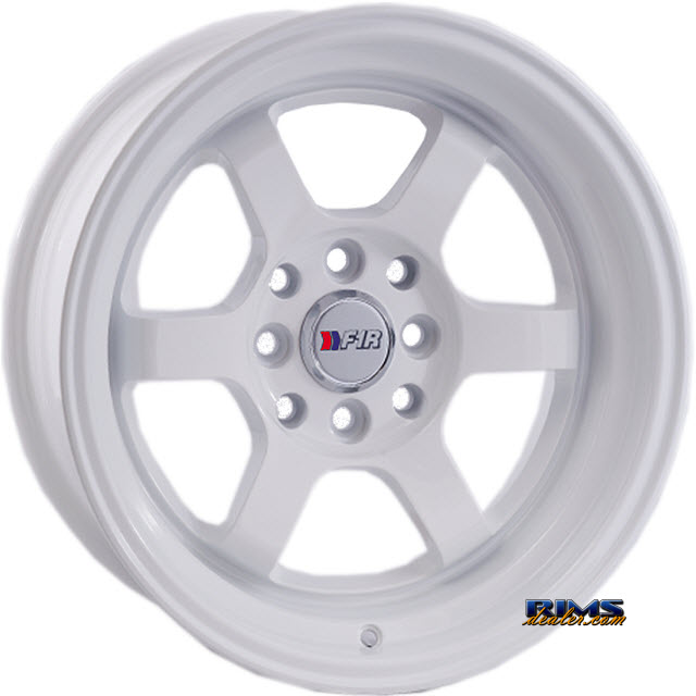 Pictures for F1R Wheels F05 White Flat