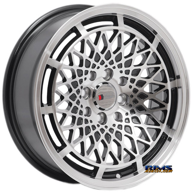 Pictures for F1R Wheels F06 Machined w/ Black