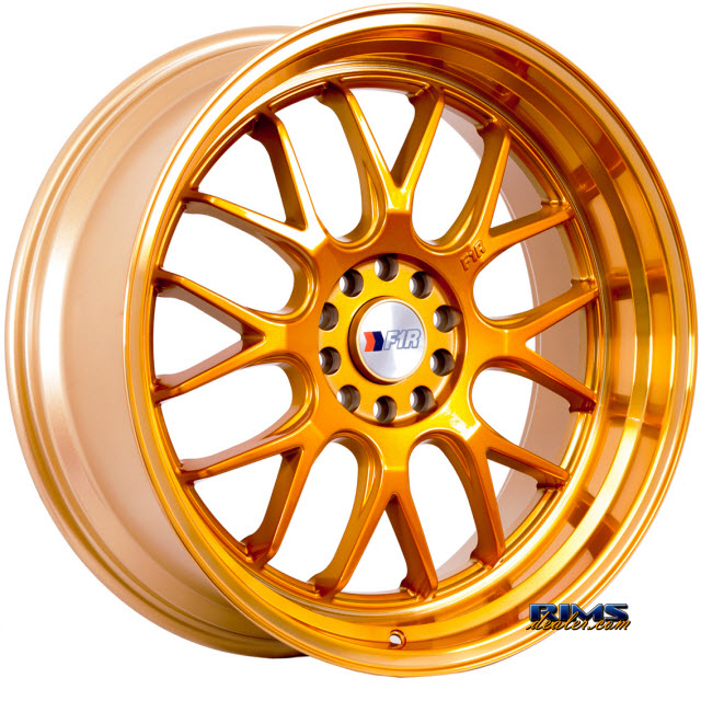 Pictures for F1R Wheels F21 Gold Flat
