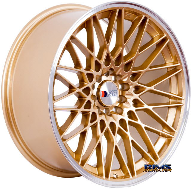 Pictures for F1R Wheels F23 Gold Flat