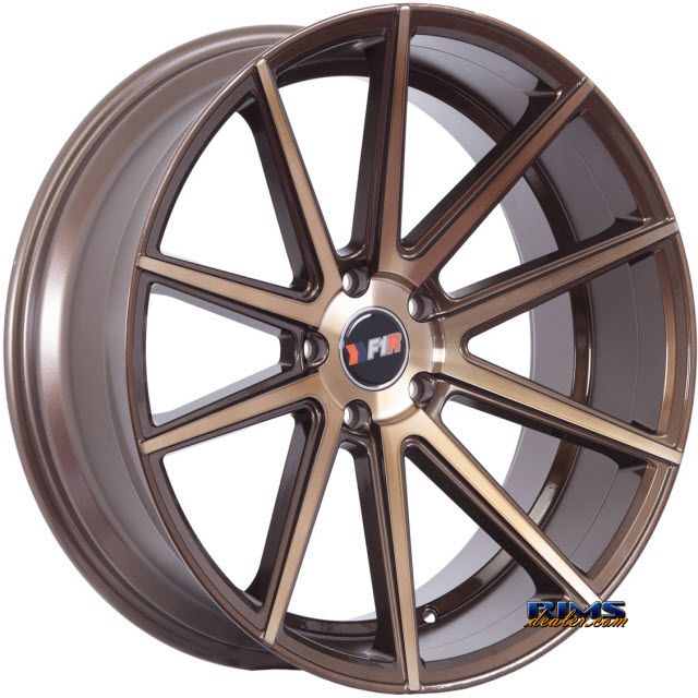 Pictures for F1R Wheels F27 Bronze Gloss