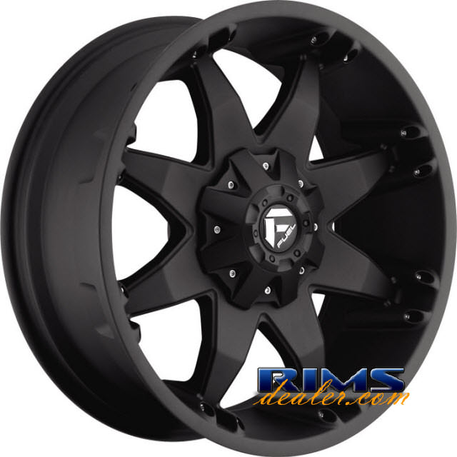 Pictures for Fuel Off-Road OCTANE black flat