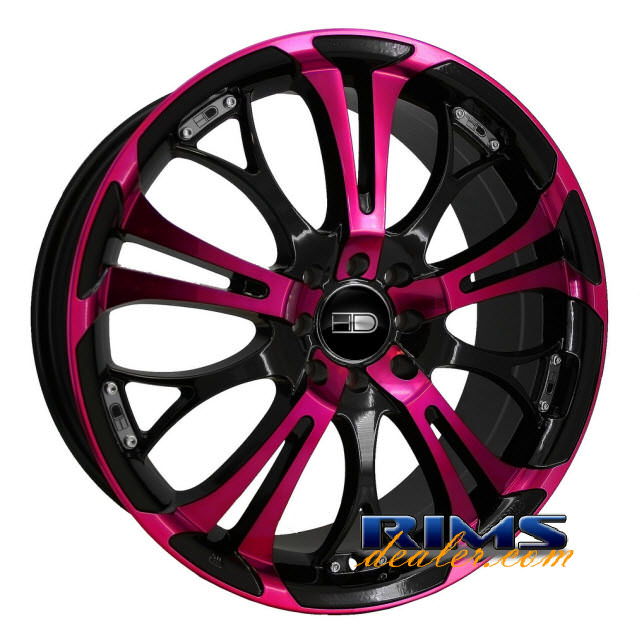 Pictures for HD Wheels Spinout pink