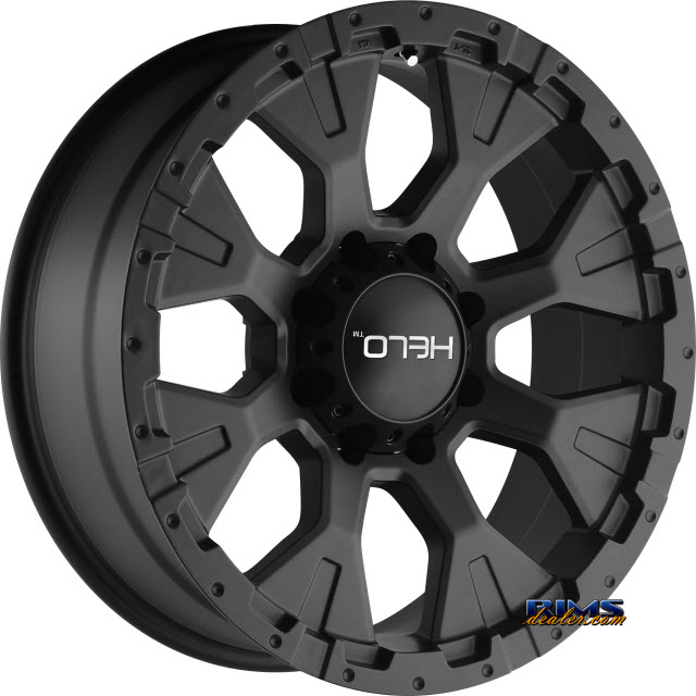 Pictures for HELO HE878 SATIN BLACK
