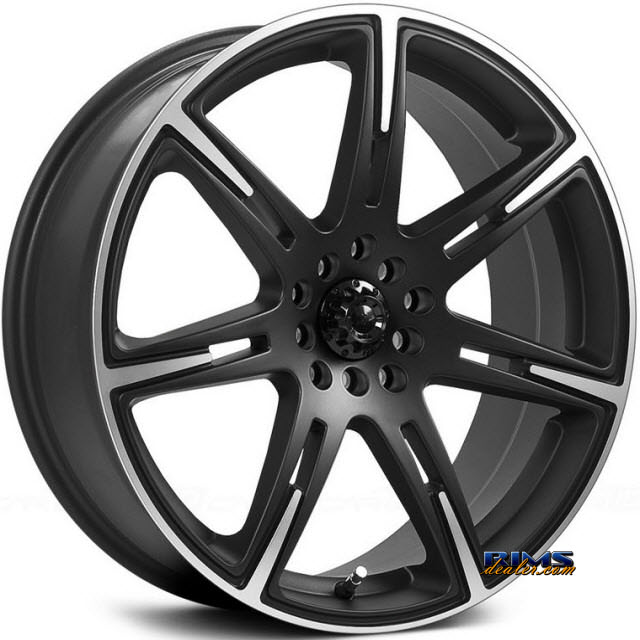 Pictures for ICW RACING 210 - KAMIKAZE black flat w/ machined