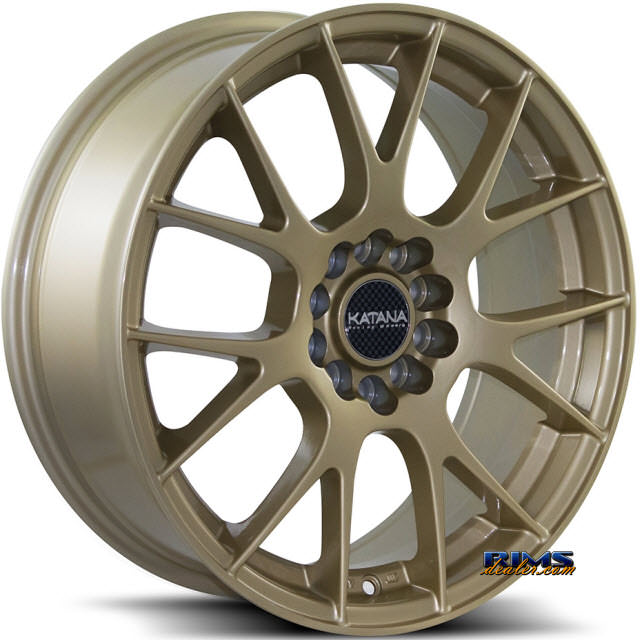 Pictures for KATANA WHEELS KR13 Gold Gloss