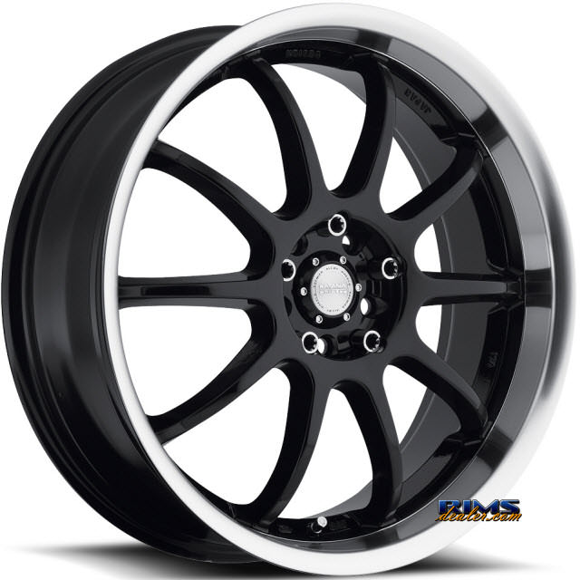Pictures for KATANA WHEELS KSD Machined w/ Black