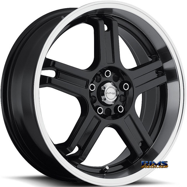 Pictures for KATANA WHEELS RZ5 Machined w/ Black