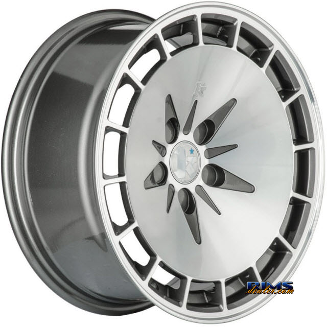 Pictures for Klutch Wheels KM16 Gunmetal Flat