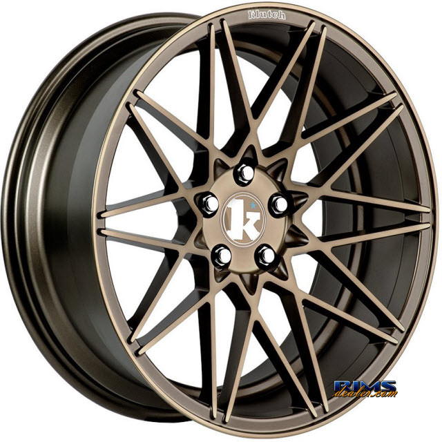Pictures for Klutch Wheels KM20 Bronze Flat