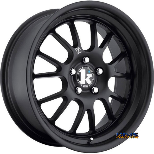Pictures for Klutch Wheels SL14 Black Flat