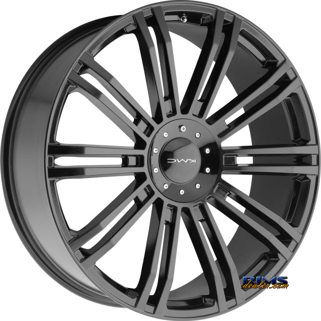 Pictures for KMC KM677 D2 Black Gloss