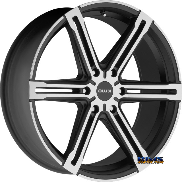 Pictures for KMC KM686 Faction Satin Black