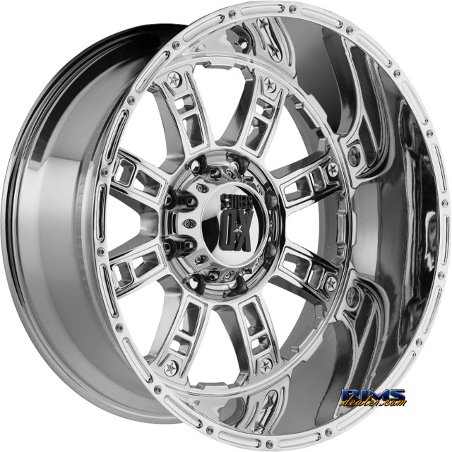 Pictures for KMC XD Off-Road XD809 Riot CHROME