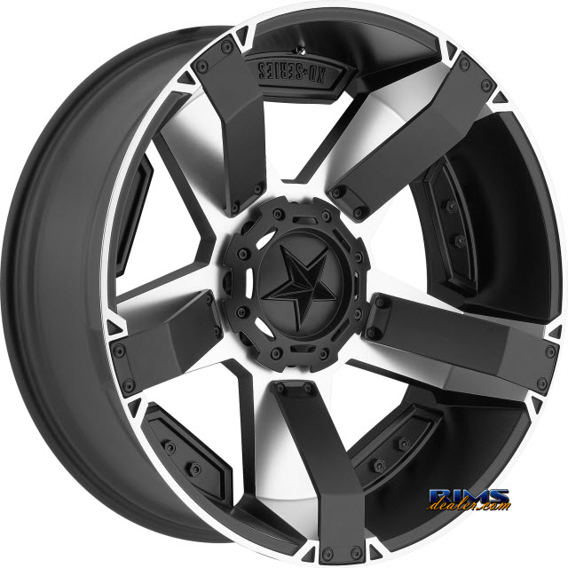 Pictures for KMC XD Off-Road XD811 Rockstar II Machined w/ Black