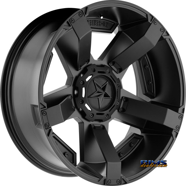 Pictures for KMC XD Off-Road XD811 Rockstar II Satin Black