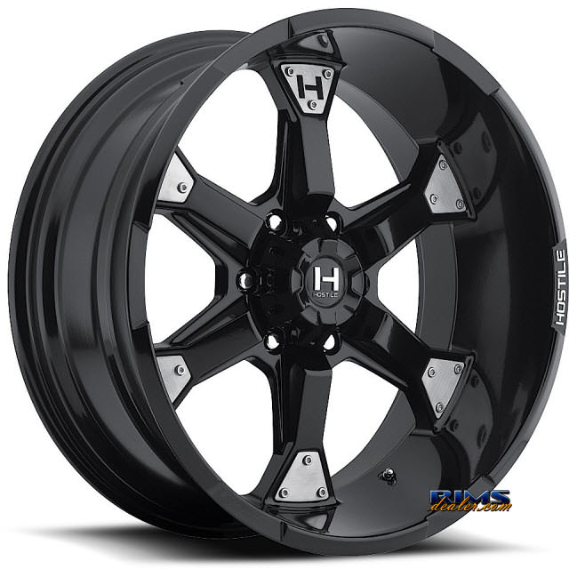 Pictures for Hostile Truck Wheels H101 - KNUCKLES 6 satin black
