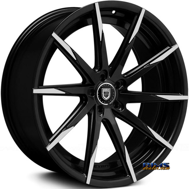 Pictures for LEXANI CSS-15 (Exposed Lugs) black gloss