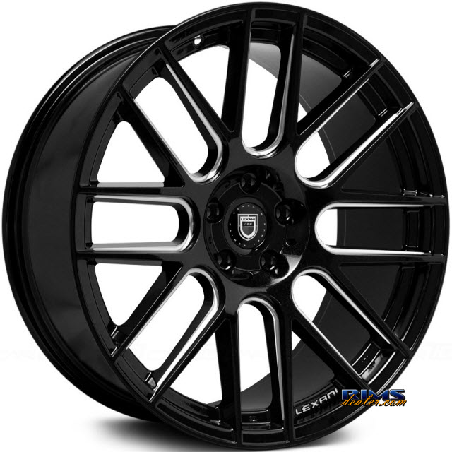 Pictures for LEXANI CSS-8 - Milled black gloss