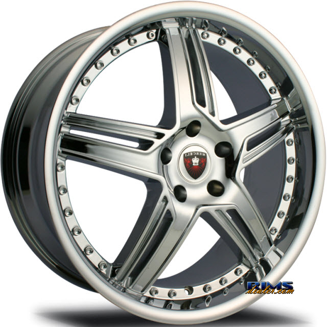 Pictures for MERCELI Wheels M13 chrome