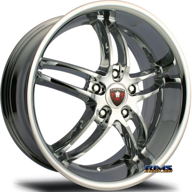 Pictures for MERCELI Wheels M16 chrome