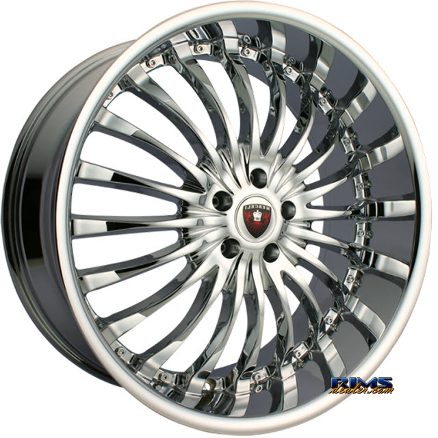 Pictures for MERCELI Wheels M20 chrome