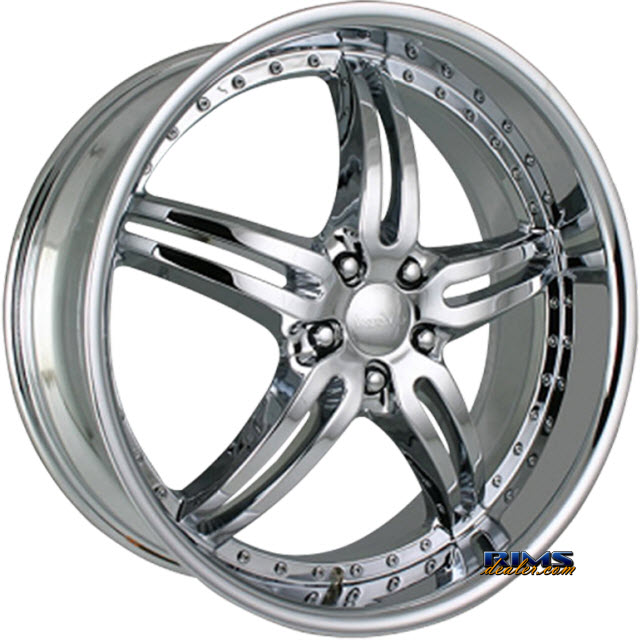 Pictures for MERCELI Wheels M2 chrome