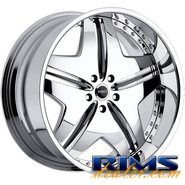 Pictures for MHT Forged EXCESS chrome w/ black cap