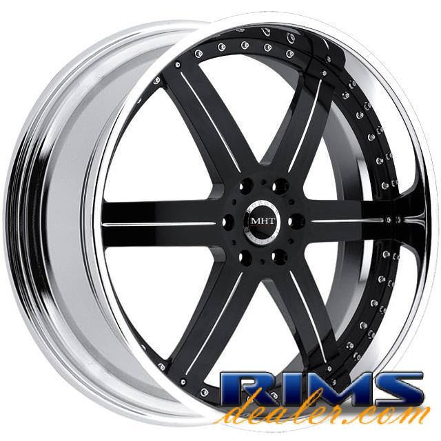 Pictures for MHT Forged LLC (6-LUG) black gloss
